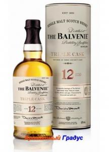 фото: Виски Balvenie Triple Cask 12 Y.O.