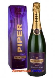 фото: Шампанское Piper Heidsieck Cuvee Sublime