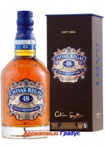 фото: Виски Chivas Regal 18 Y.O.-1л