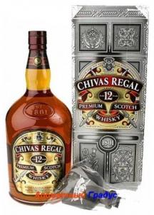 фото: Виски Chivas Regal 12 Y.O.-4,5 л-насос