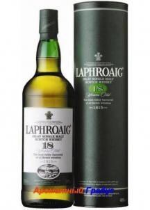 фото: Виски Laphroaig 18 Y.O. Single Islay Malt