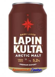 фото: Пиво Lapin Kulta Arctic Malt Dark Lager