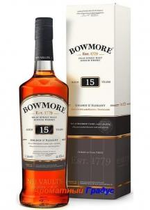 фото: Виски Bowmore 15 Y.O. Golden & Elegant