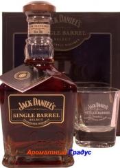 Jack Daniels Single Barrel (Подарочный набор)